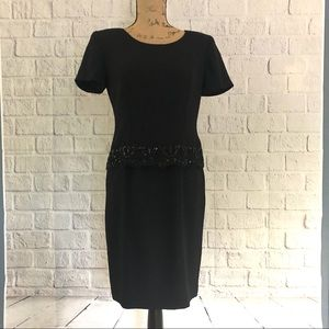 beautiful embellished Maggie London dress